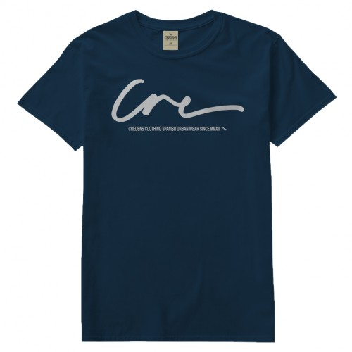 CRE T-SHIRT BLUE