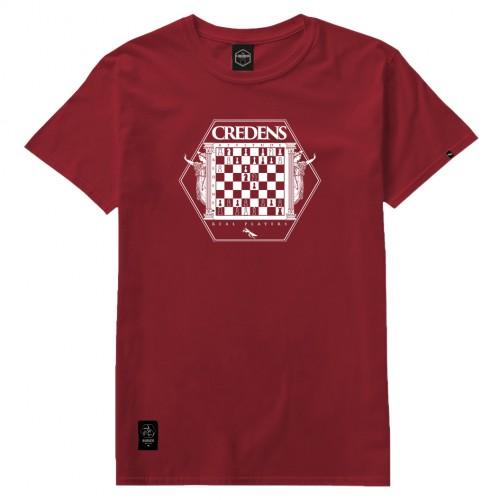 CAMISETA CREDENS CHESS RED