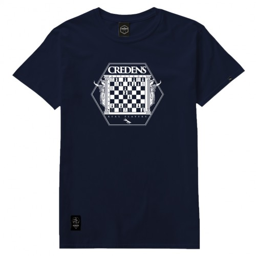 CAMISETA CREDENS CHESS WHITE